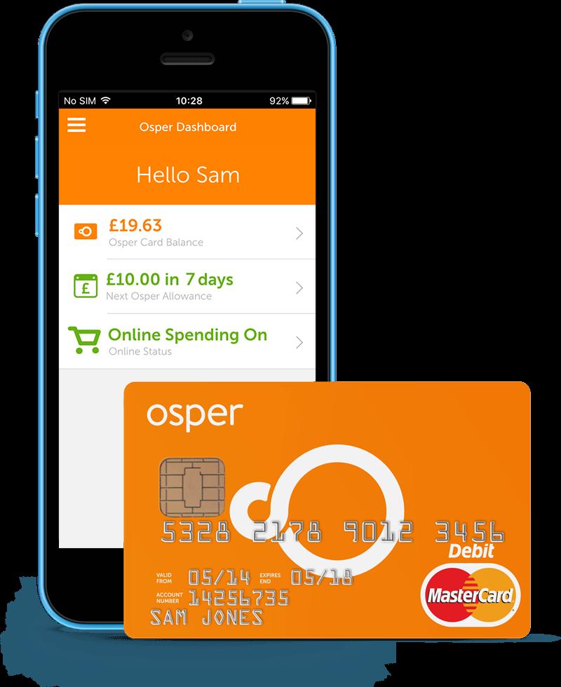 Simple prepaid debit card